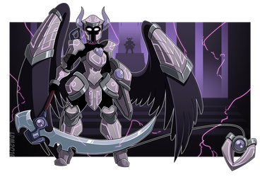 :Commission - Armoured Admittance: by Lorddragonmaster