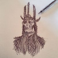 The Witch-King of Angmar by Nephellim