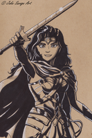 Wonder Woman by Fires-storm