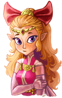 Princess Zelda by Teafauna