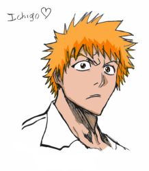 Ichigo- Colored by Ravenwind137