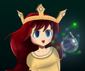 Child of Light - Aurora and Igniculus by aslove