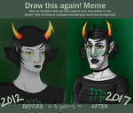 Art Improvement Meme: Kanaya by Zelda-Chan202
