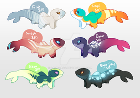 Sharkpup Adopts by sambragg