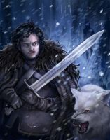 Jon Snow by Krikin