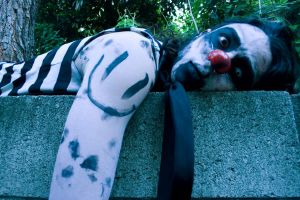 GhoulHectic_tHEfOUNDcLOWN:o? by SaintHectic