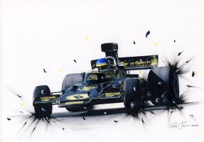Ronnie Peterson opposite lock by klem