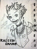 Monster High OC [[ Kalister Imparo ]] by chisohma