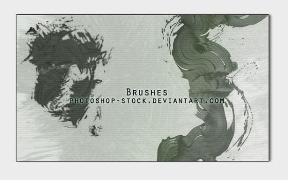 Brushes by photoshop-stock