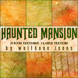 Haunted Mansion Texture Set by jordannamorgan
