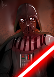 Darth Vader by Chyche