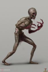 'Stage One' Creature concept by Grobelski