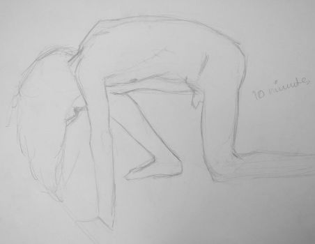 Jan 28th - Life Drawing, I by freezingmoon