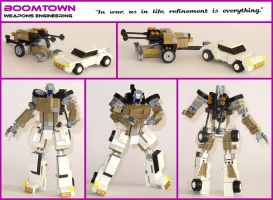 Lego Transformers - Boomtown by Librarian-bot