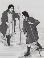HP: The hard (Snape and Black) by iris-M