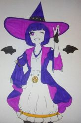The Purple Witch by SayaCipher