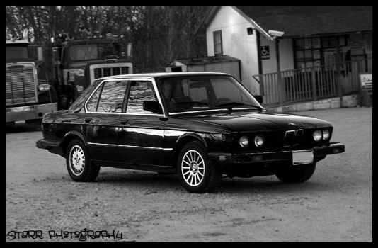 1983 533i Classic Bimmer by xcorpseofdejectionx