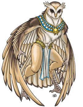 Owl Agathion by ProdigyDuck