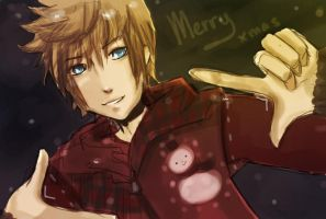kh-merry xmas by ThePinkSparkles