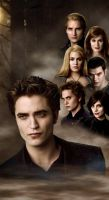 New Moon Cullens by potterfisk0177