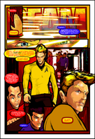 Star Trek Vs Star Wars - Interior Page 1 by CandyAppleFox