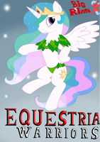 Celestia dressed as the Great Fairy by BigRinth