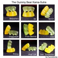 Gummy Bear Kama-Sutra by PsychoBitches