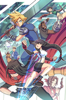 Final Fantasy VII by marcotte