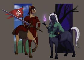 Centaurs: Character Race by Bandlith