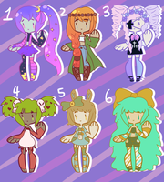 { adopts - varied } { CLOSED } by hello-planet-chan