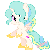 Alicorn filly Adopt [Close] by Posey-11