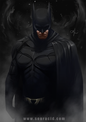 Batman by SourAcid