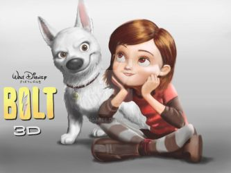 Bolt and Penny-Corel Painter12 by Singabee