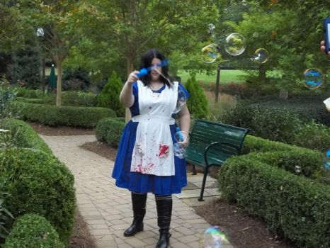 Alice in Bubble Land by GoddessChelle