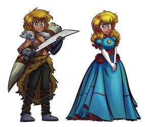 Princess Fleck by tran4of3