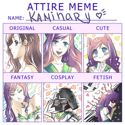 Attire MEME by kaminary-san