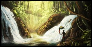 .:jungle speedpaint redux:. by mrConceptual