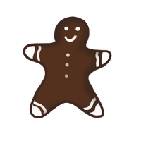 Gingerbread man by ReapersSpeciesHub