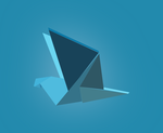 Origami Vector Dove by michaelsboost