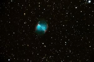 Dumbbell nebula first try! by alkhor