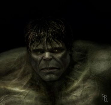 Hulk 3, The Incredible Hulk by aaronsimscompany