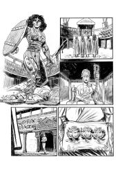 Shani-the Wanderer page 02 by LeighWalls-Artist