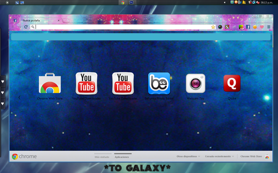 Google chrome skins favourites by Isfe on DeviantArt