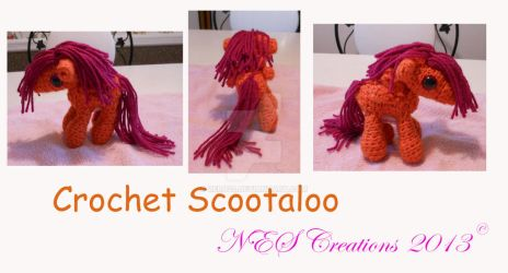 Crochet Scootaloo by Zero23