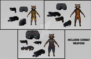 Rocket Raccoon Collection by Pitermaksimoff