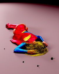 Supergirl - dforced by Transformerman