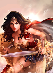 Wonder Woman by Forty-Fathoms