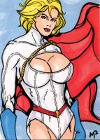 Power Girl March of Dimes by mmunshaw