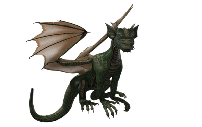 Millennium Hatchling Dragon 02 by Free-Stock-By-Wayne