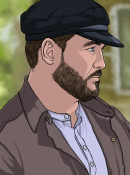 Benny Lafitte Portrait by MelanieDarling